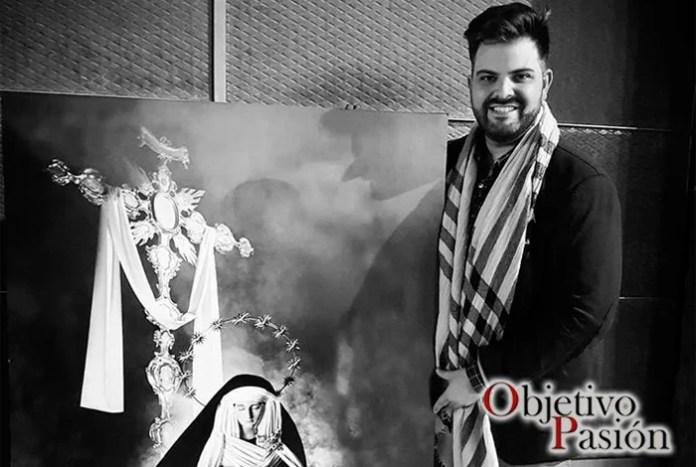 Aitor López también ha realizado el cartel Passio Velecitanam, como protagonista Angustias Coronada.