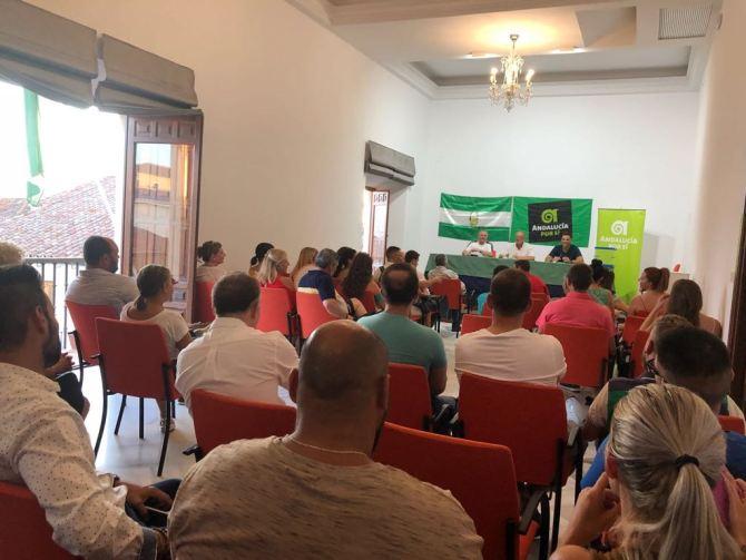 Andalucía Por Sí (AxSí) abre un nuevo camino en la política de Vélez-Málaga