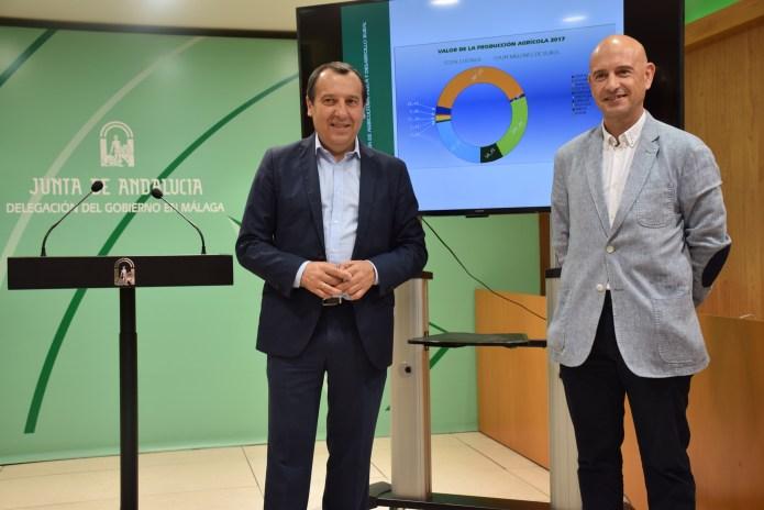 La agricultura, la ganadería y la pesca alcanzaron en Málaga una producción final de 884 millones de euros en 2017