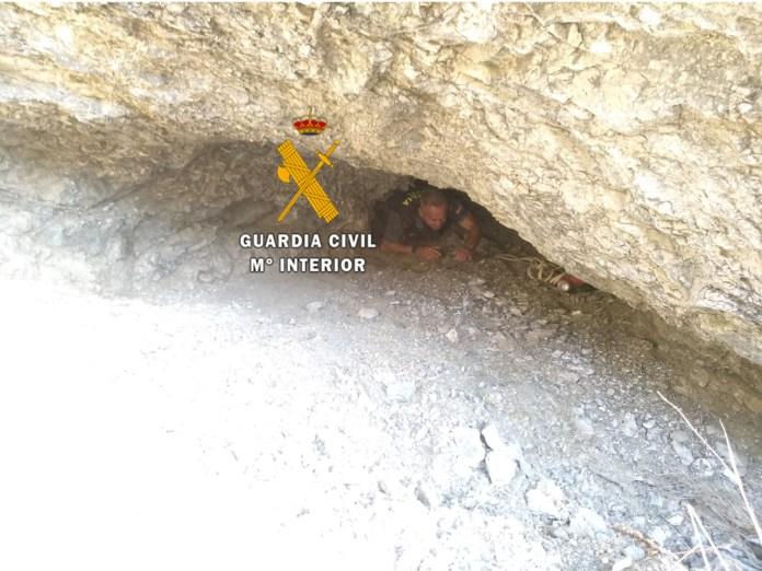 La Guardia Civil rescata a una persona que llevaba dos días desaparecida en Mijas