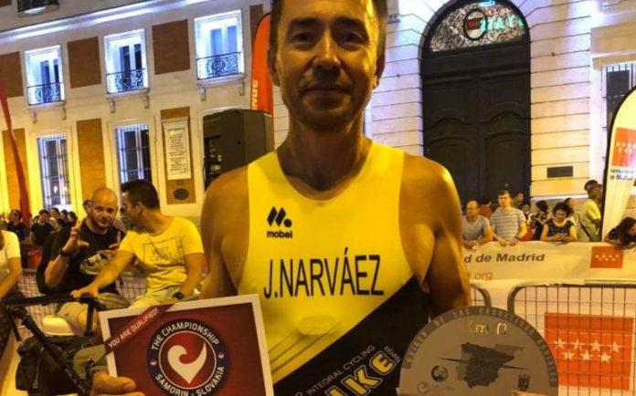 El nerjeño Jesús Narváez, Campeón de Europa de triatlón