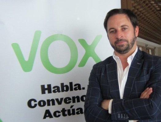 """Vox Màlaga estará con """"La España Viva"""" junto a Santiago Abascal"""