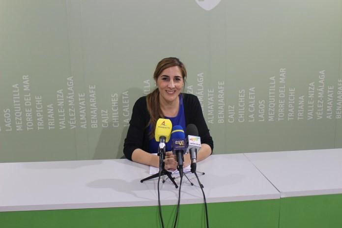La concejala de Bienestar Social e Igualdad del Ayuntamiento de Vélez-Málaga, Zoila Martín.