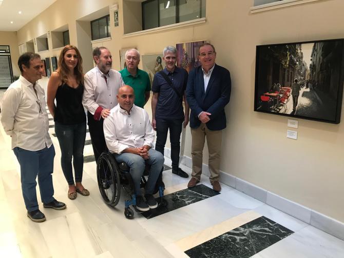 La obra 'Sombra y Luz' de Raúl Gil Rodríguez, ganadora del IX Concurso de Pintura Evaristo Guerra