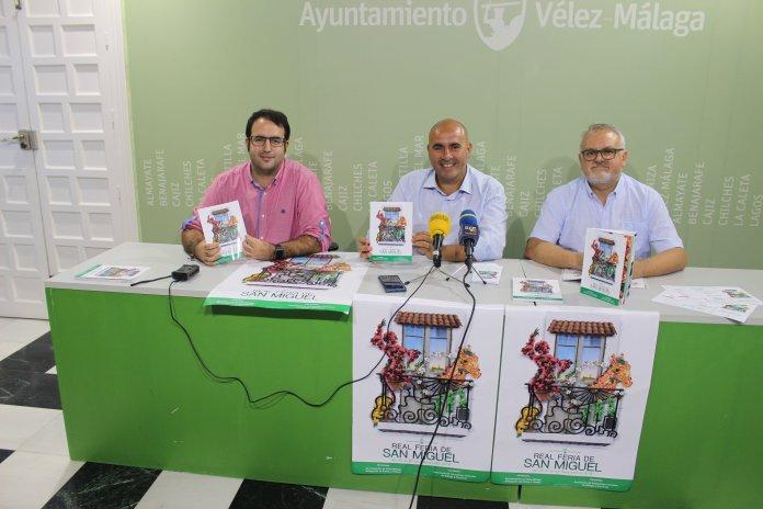 Vélez-Málaga presenta el Libro de la Real Feria de San Miguel 2018