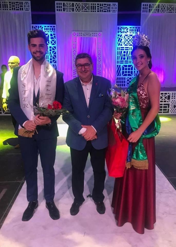 Claudia Pérez y José Luís Bautista, Miss y Mister 2018 de Vélez-Màlaga