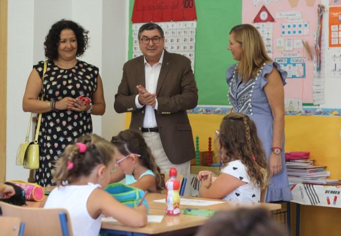 Arranca el curso escolar en Vélez-Málaga con cerca de 8.000 alumnos matriculados