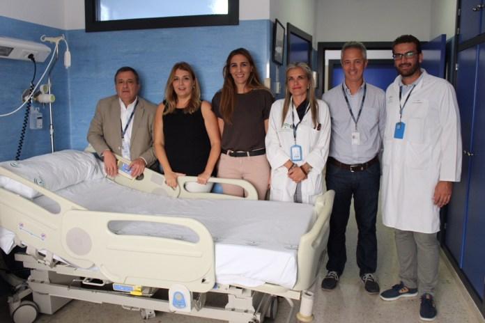 La delegada de Salud ha visitado hoy la reforma que, con una inversión de 40.000 euros, incluye la renovación integral de 13 habitaciones que entrarán en funcionamiento el próximo lunes.