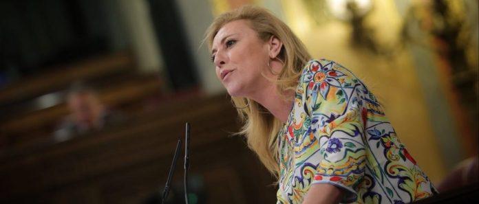 La portavoz de Empleo y Seguridad Social del PP en el Congreso, Carolina España, diputada por Málaga,.