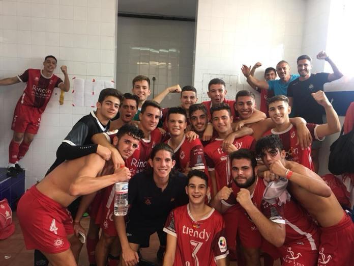Los juveniles del Club Deportivo Rincón ganan al Club Deportivo 26 de Febrero (0-2)