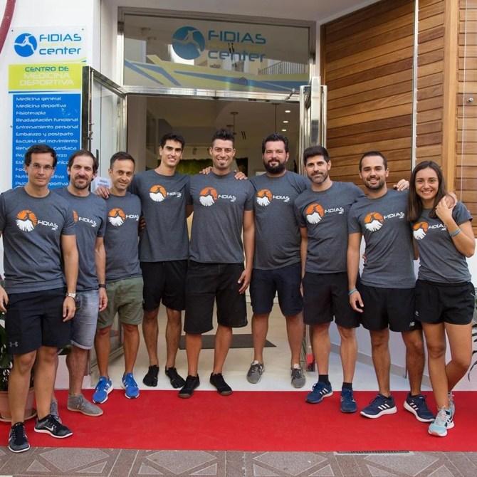 Deseamos el mejor éxito empresarial a los mellizos Kiko y Jorge Montoro y a todo el equipo del centro de médico-deportivo Fidias Center Vélez.