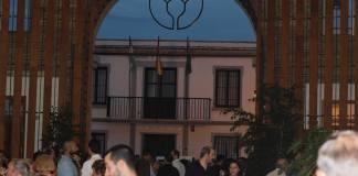 Imagen de la multitudinaria inauguración.