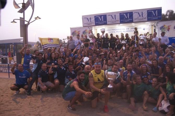 La Araña y Torre del Mar consiguen el triunfo en senior y juvenil de la VII Liga Provincial de Jábegas Diputación de Málaga – Copa Pepe Almoguera