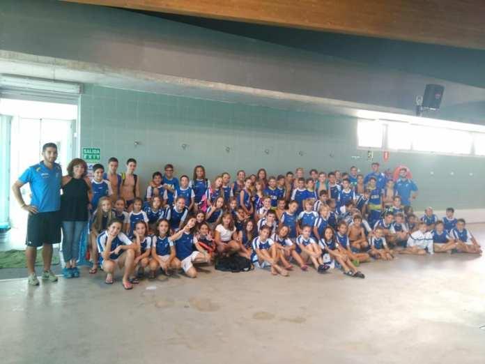 El Club Natación Axarquía se proclama campeón de las primeras jornadas del Circuito Provincial de Clubes