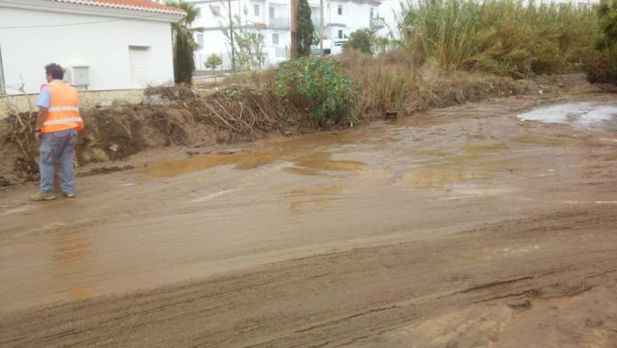 Vélez-Málaga gestiona más de 40 actuaciones para resolver las incidencias provocadas por el temporal