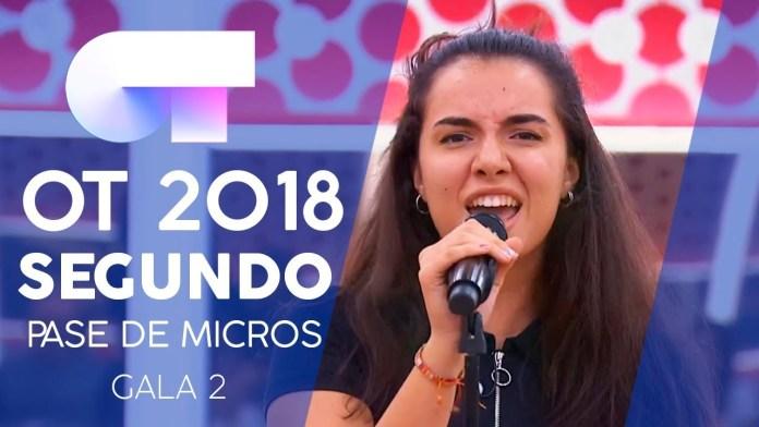 Hoy volvemos a ver a Marta Sánchez Sango en la Gala de OT