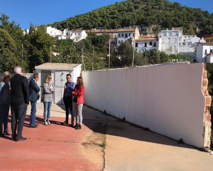 La Junta trabaja para que los centros educativos recuperen la normalidad lo antes posible tras el temporal en Málaga