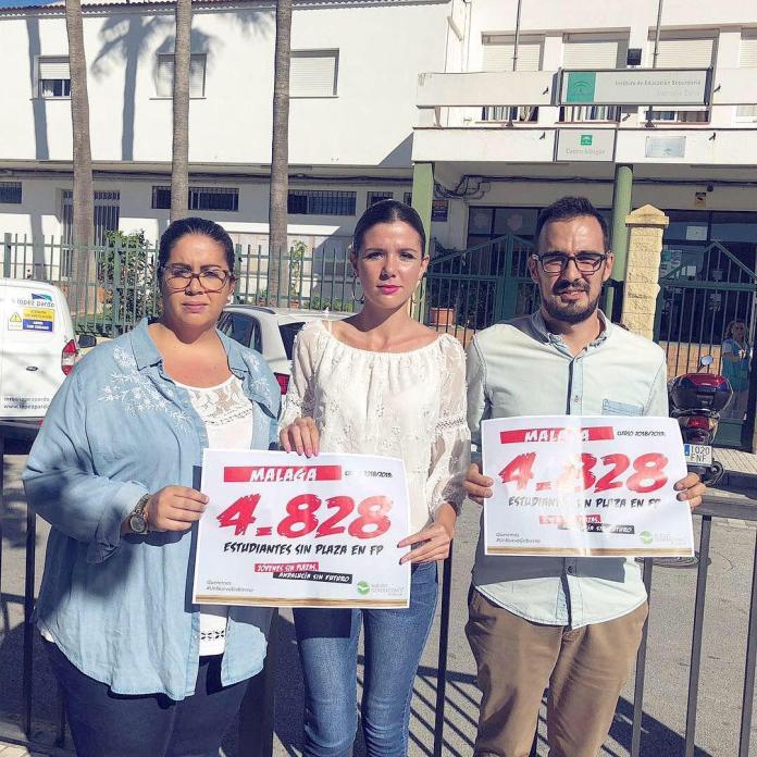 Nuevas Generaciones denuncia que casi 5.000 jóvenes se quedan sin plaza de FP en Málaga