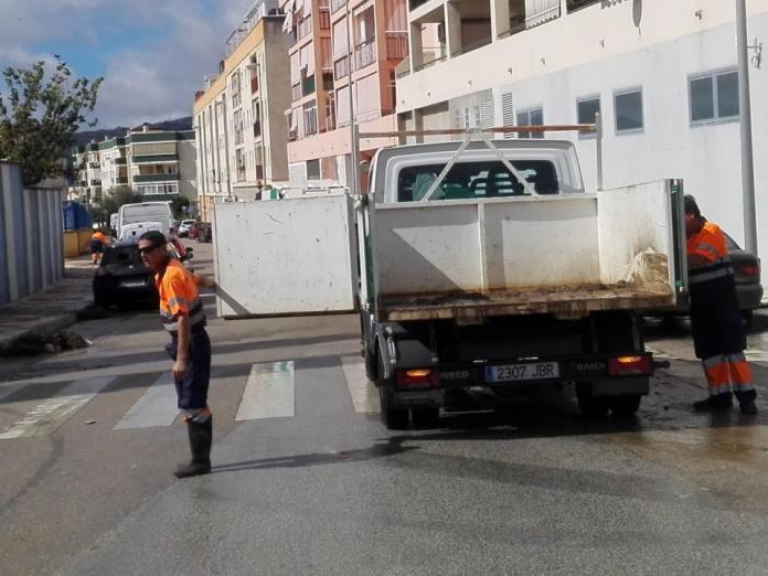 Datos de la lluvia en el municipio de Vélez-Málaga tras el paso de la tormenta tropical Leslie