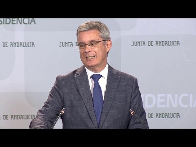 El Gobierno andaluz agradece la respuesta coordinada de instituciones y ciudadanía ante las lluvias