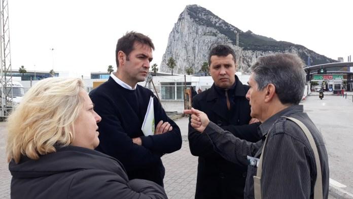 Andalucía Por Sí traslada su apoyo a Asociación de Trabajadores Españoles en Gibraltar