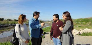 La coalición verde y blanca recuerda la mala situación de los ríos Guadalhorce y Genal y el peligro que supone para el turismo.