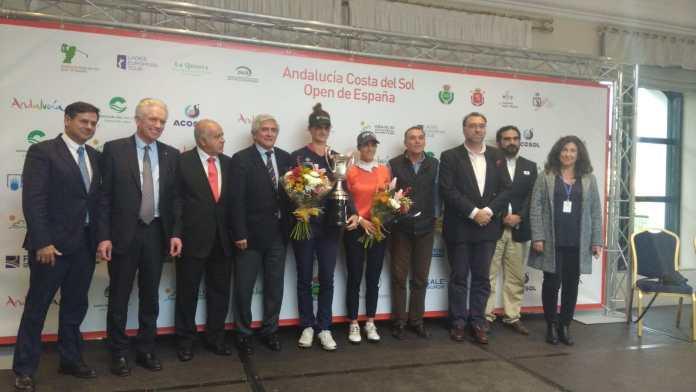 Culmina con éxito el quinto Open de España Femenino de Golf que acoge la Costa del Sol
