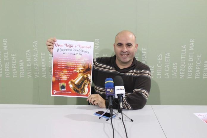 Unos 250 mayores de Vélez-Málaga celebrarán la Navidad con el tradicional encuentro de coros