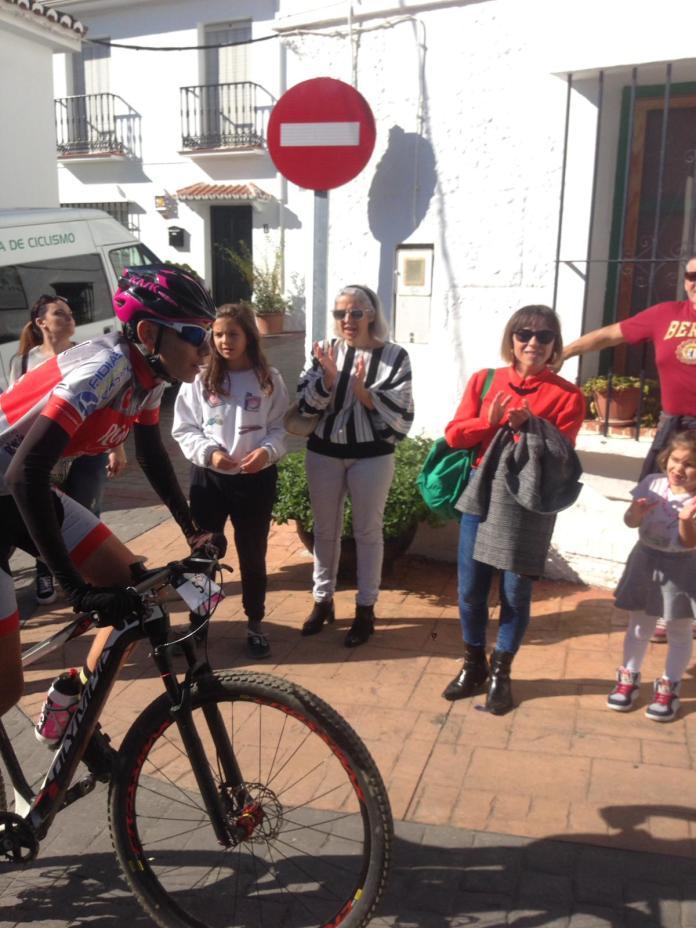 Rincón Sport Team 'lo da todo' en la Cronoescalada a Bentomiz