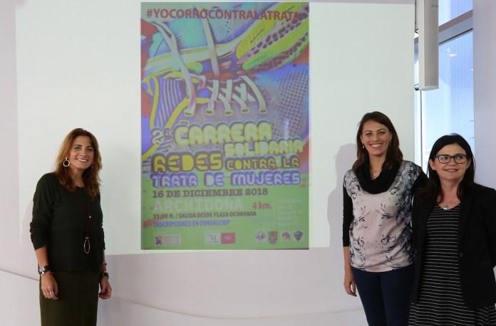 Archidona celebra el próximo domingo la II Carrera Solidaria 'Redes contra la trata de mujeres'
