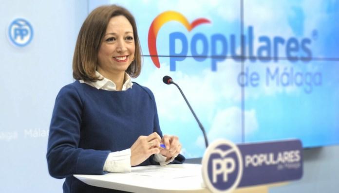 La secretaria general del Partido Popular de Málaga, Patricia Navarro.