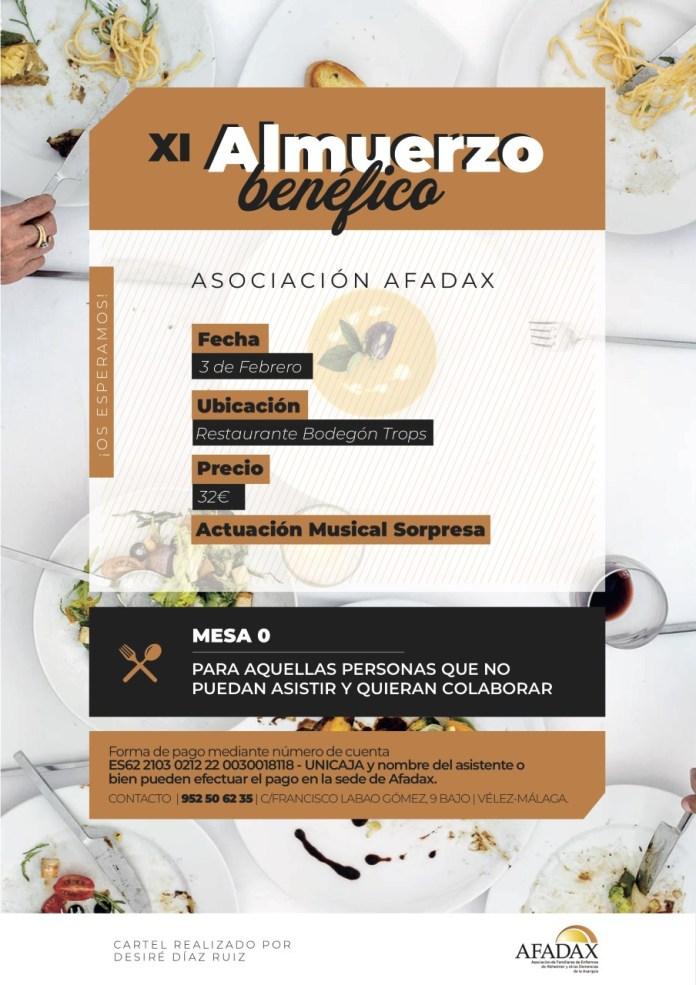 XI Almuerzo Solidario Alzheimer de AFADAX