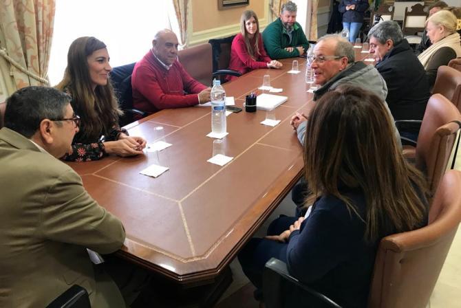 Moreno Ferrer reafirma su compromiso con las asociaciones locales