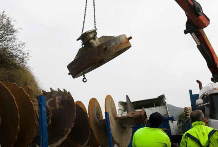 El mayor problema al que puede enfrentarse los mineros de Asturias desplazados a Totalán es la dureza del terreno