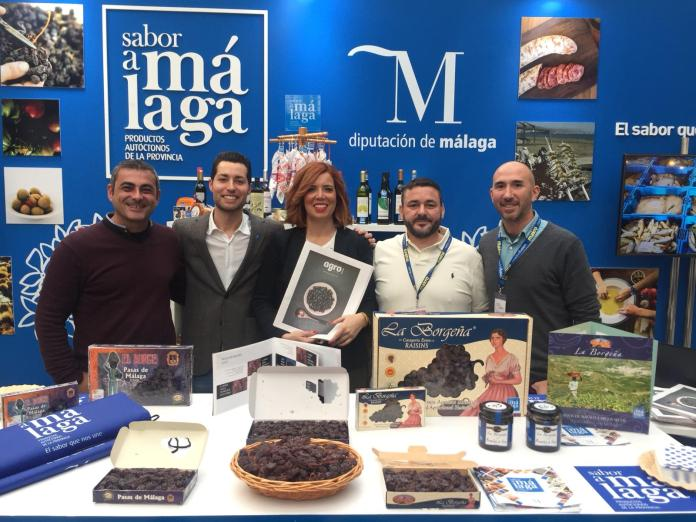 'Sabor a Málaga' promociona la uva pasa de la provincia en la primera jornada de Madrid Fusión