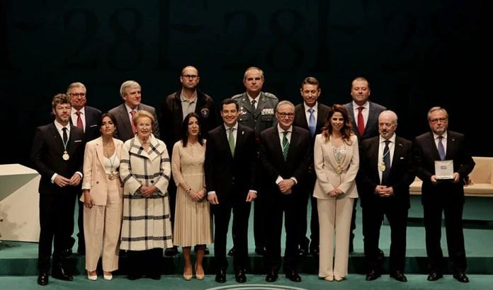 Andalucía reconoce el esfuerzo, el talento y la excelencia con motivo del 28F