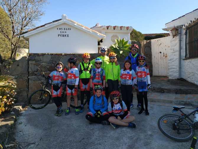 El club Rincón Sport Team se supera con una ruta de nivel alto