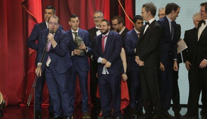 La película 'Campeones' recuerda al pequeño Julen en los Goya
