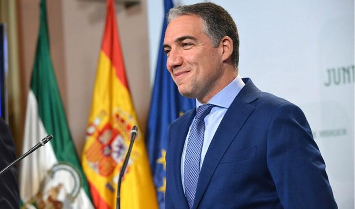 Elías Bendodo asume la función de portavoz del Gobierno de la Junta de Andalucía