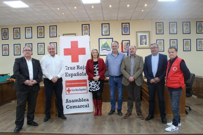 La Mancomunidad Axarquía Costa del Sol, Apta y Ceder recibirán la medalla de bronce de Cruz Roja