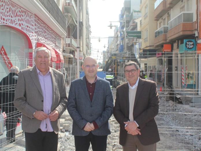La peatonalización del tramo norte de la calle del Mar dotará a la zona de mayor impulso comercial y turístico