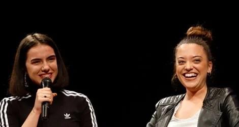 Noelia Franco y Marta Sango, de Operación Triunfo al Festival de Cine de Málaga