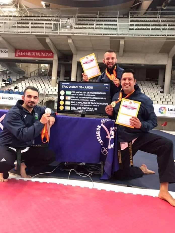 El veleño Ginés García se proclama Campeón de España y se clasifica para el Europeo de Turquía de Taekwondo