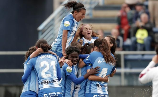 Las malagueñas lucharon hasta el final y vencieron por 4-2 con tantos de Marta Cazalla, Paula, Leti y Raquel.