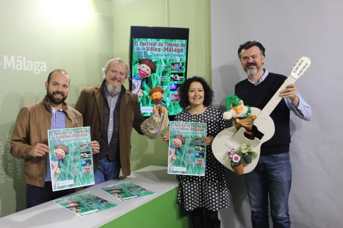 El flamenco y el rock se suman a la nueva edición del festival de títeres de Vélez-Málaga