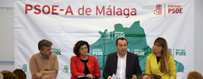 El PSOE iniciará esta noche la campaña de la «ilusión y la esperanza para Málaga»