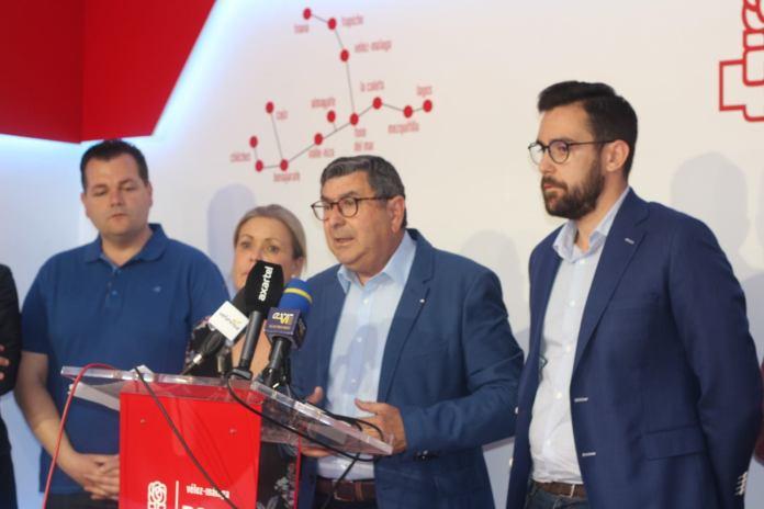 El PSOE de Vélez-Málaga hace balance de la gestión municipal en una legislatura marcada por el comienzo de la mayor transformación urbana de la ciudad en el último siglo