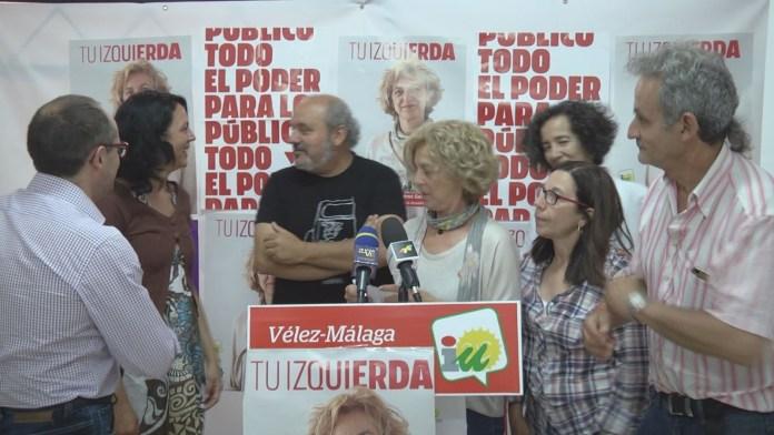 Vivienda y agua, puntales de las reivindicaciones de Izquierda Unida en Vélez-Málaga, principales tareas que asume la diputada García Sempere para esta nueva legislatura