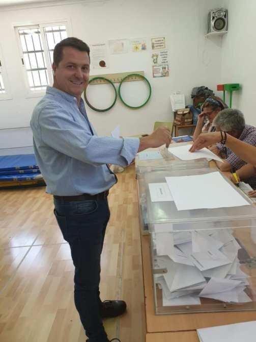 Así han votado los candidatos a la Alcaldía de Vélez-Málaga
