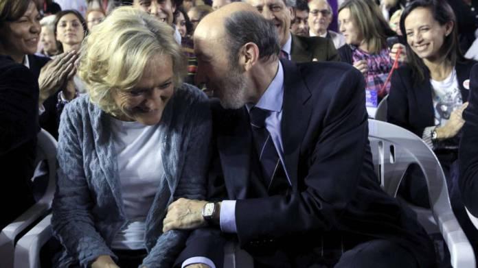 La emotiva carta de agradecimiento de la esposa de Alfredo Pérez Rubalcaba